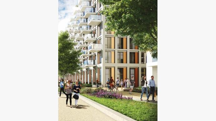 近伦敦金丝雀码头 Royal Wharf 公寓-467421
