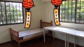 私人排屋招租 单人双人房均有 全新床和床垫 拎包入住 靠近JCU