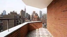 纽约曼岛中城中高层高档公寓3B2B