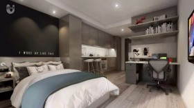 【房源转租】格拉斯哥Vita Student Glasgow学生公寓 Studio房型